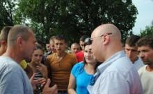 Bucovina-proteste romani vs razboi Donbass-int cu OSCE-BucPresEU-28-07-14