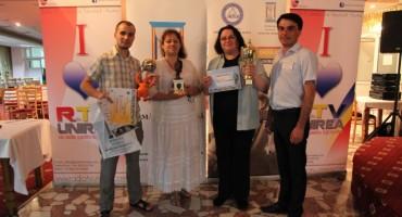 Fest-HERCULES.ro-trofee pt Studiourile MD-Flacara si CIOfilm-Sergiu-Larisa-Lumi-Doru-5-07-201414