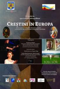 Afish-Crestini in Europa-spectacol Cimislia-26 nov 2014