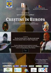 Cernauti-Afish-Crestini in Europa-film Flacara-Furdui-Iancu-7-11-2014