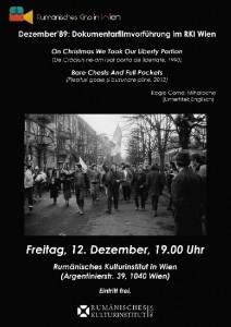 12-12-2014-ICR Viena-Afis Decembrie89 Cornel Mihalache-www.radioromaniacultural.ro