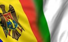 Drapelul R.Moldova si Italia-colaj www.trm.md