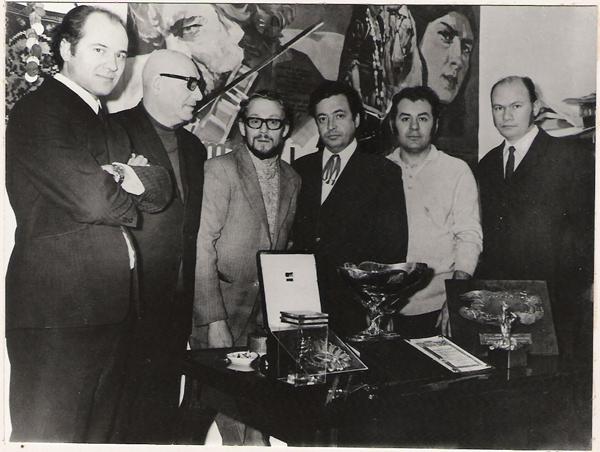 Emil Loteanu-Eugen Doga-Premiul Scoica de Argint-Spania pentru Lautarii 1972-600px
