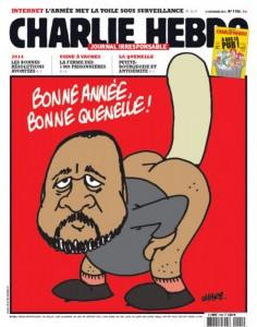 10-01-2015-Charlie Hebdo- Caricatura-anal-porno