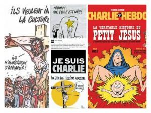 10-01-2015-Charlie Hebdo- Caricatura-contra Hristos
