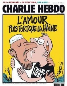 10-01-2015-Charlie Hebdo- Caricatura-homo Mahomed