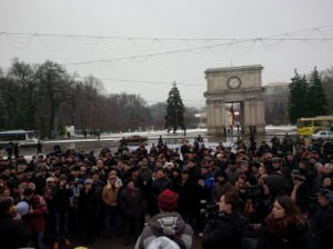 25-01-2015-Proteste contra coalitie monstruoasa-Filat-Plahotniuc-Voronin-protv.md
