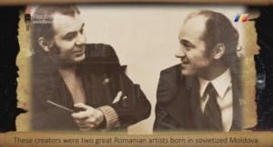 FlacaraFilm-Emil Loteanu-Eugen Doga-captura din filmul Eugen Doga-100 romani celebri-2012