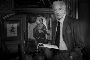 Sergiu Nicolaescu cu scenariul in mana