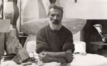 Brancusi C-tin-plan mare- foto in atelierul sau de la Paris