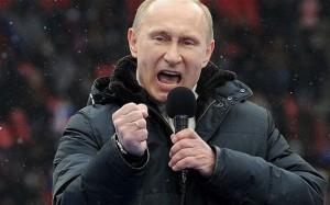 Putin cu pumnul in gura omenirii
