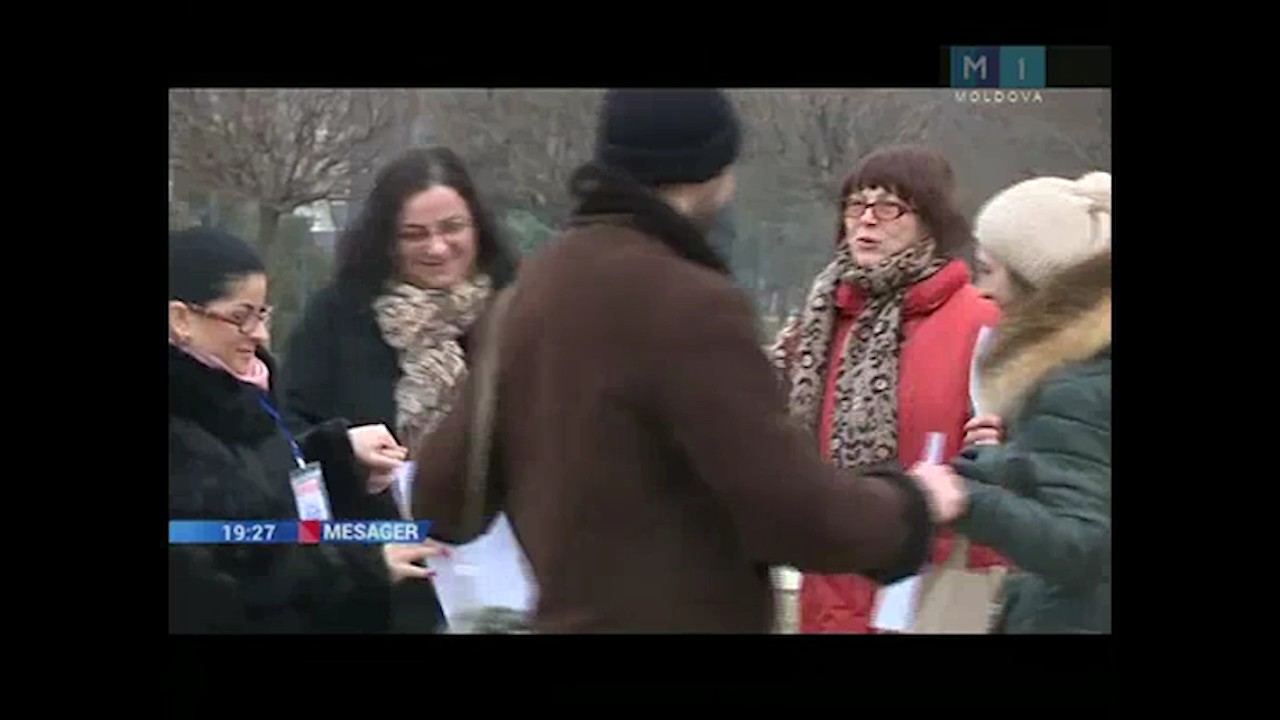 TVM-Mesager-Cercul Brancusi-Flashmob-Catedrala Chisinau-19-02-2014 thumbnail