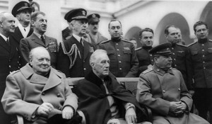 Yalta 1945-Churchill Roosevelt-Stalin