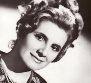 Doina Badea tanara-portret