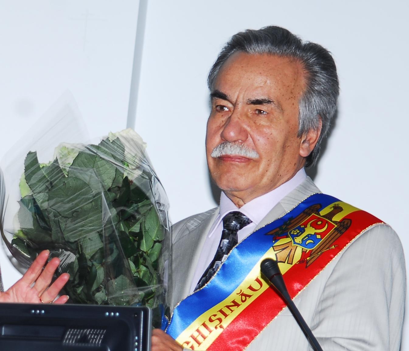 Dumitru Matcovschi-Cetatean de Onoare a Primariei mun. Chisinau
