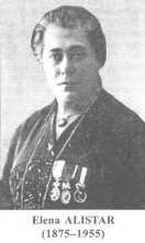 Elena Alistar cu inscriptie jos