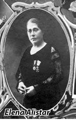 Elena Alistar-rama ovala