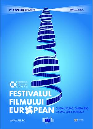 Festivalul Filmului European 2015 poster ICR