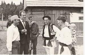 Flacara Film-Eugen Doga-Gheorghe Voda in Bucovina Cernauti 1967