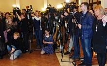 Iohannis in Germania-jurnalisti-foto Emil Mateias