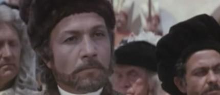 Mihai Volontir in rolul lui Dimitrie Cantemir