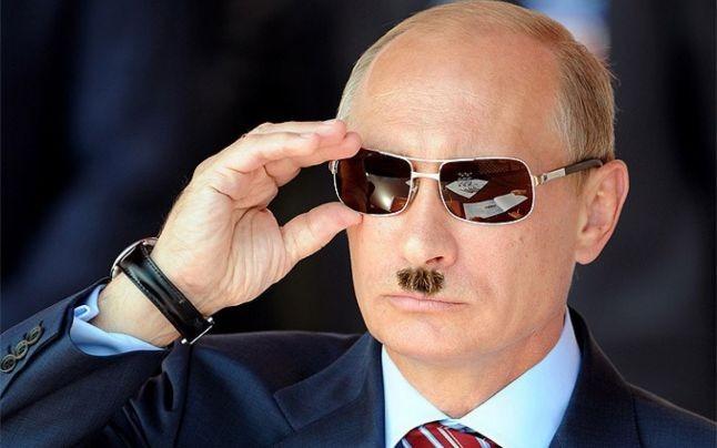 Putin cu mustatile lui Hitler-colaj-Adevarul.ro