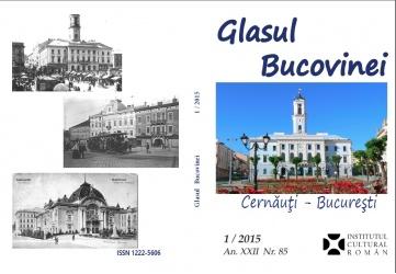 Revista Glasul Bucovinei-Cernauti-colaj coperte