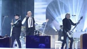 Voltaj-Castigatori Eurovision RO 2 trupa si solist Calin Goia prim-plan-foto TVR