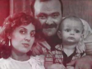 Ion Doina si fiul lor Cristi