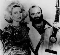 Ion si Doina cu chitara-alb-negru