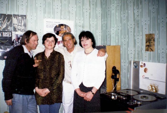La emisiunea Focul din Vatra-Luminita Dumbraveanu-Gheorghe Zamfir-Eugenia Duca-Vlad Pohila-Radio Moldova-28 mai 1999-800px
