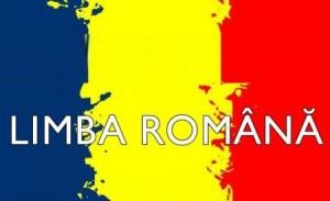 Limba Romana pe drapel Tricolor