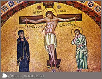 Mantuitorul Hristos pe Crucea-crestinortodox.ro-300px