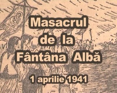 Masacrul de la Fantana Alba-marshul romanilor-creion-titre-captura video-Digi24-400px