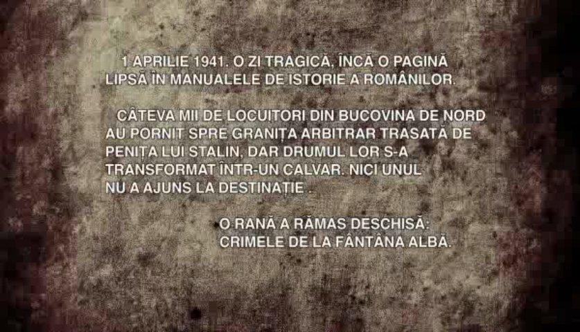 Masacrul de la fantana Alba-cuvinte de vesnica neuitare-captura video