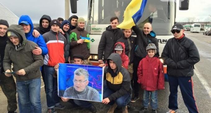 Miting-Kuciurgan-eliberare Serghei Ilcenko din Transnistria