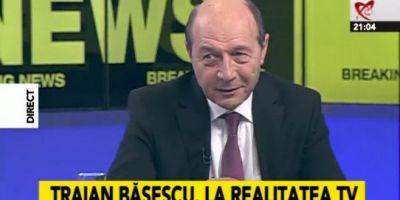 Traian Basescu la RealitateaTV-400x200