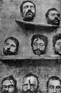 genocidul-armean-capete de barbati-cersipamanat romanesc