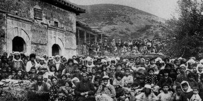 genocidul armenilor-ghetou