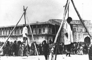 genocidul armenilor-spanzurati in piata