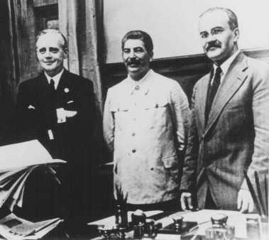 Alianta Stalin-Hitler-Ribbentrop-Stalin-Molotov