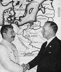Alianta Stalin-cu Ribbentrop-colaj-HARTA partajata Europa de Est