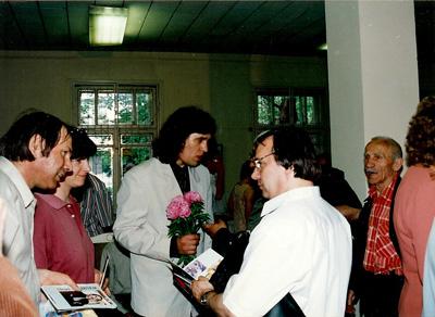 Chisinau-Teo Buzu-Nicolae Dabija-Luminita Dumbraveanu-Vlad Pohila-august 2000-400px