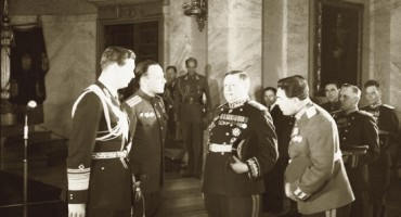 Jaful Romaniei-Regele Mihai I si Visinski-Ordin Pobedi