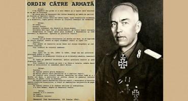Antonescu si Ordinul catre Armata Romana-22iunie1941-colaj-400px