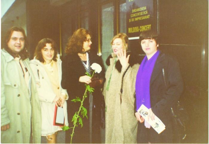 Anglea Similea la Chisinau-1997