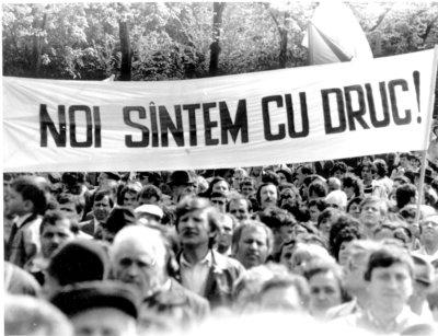 Mircea Druc-lozinca din 1990