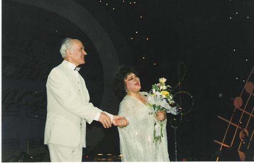 Eugen Doga si Maria Biesu la Moscova-500px