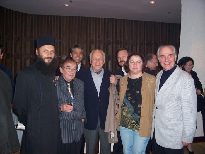 Luminita Dumbraveanu cu Eugen Doga-Vlad Spanu sa-Bucuresti octombrie 2006-