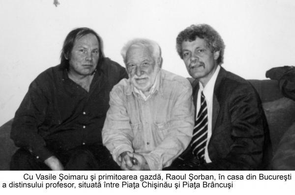 Vlad Pohila alaturi de Raoul Sorban si Vasile Soimaru